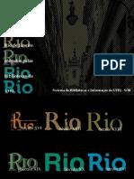 Livro Rio - 450 Anos Da Cidade Do RJ Contados Pelas Bibliotecas Da UFRJ