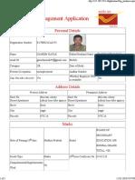 Daak Sevak Application Form Ganesh
