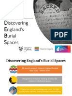 Introduction to Discovering England's Burial Spaces (DEBS) project
