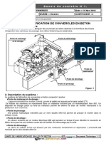 Devoir de Contrôle N°1 - Génie mécanique - UNITE DE FABRICATION DE DALLES DE BETON - Bac Technique (2016-2017) Mr Bakini Noomen
