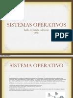 sisitemas operativos