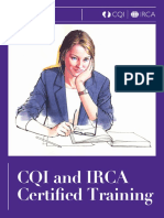 CQI and IRCA Certified Training Case Studies