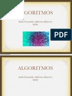 Algoritmos Pre