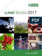 CABI 2017 Books Catalogue