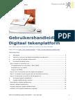 Vlaamse Overheid - Digitaal Tekenplatform Gebruikershandleiding