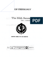 The Sikh Sansar USA-Canada Vol. 6 No. 1 March 1977 (Sikh Theology)