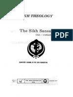 The Sikh Sansar USA-Canada Vol. 6 No. 1 March 1977 (Sikh Theology)