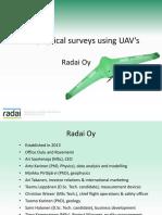 Geophysical Surveys Using Drones_A Saartenoja