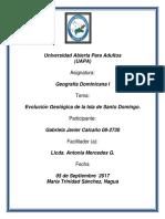 Actividad 1 Geografia Dominicana
