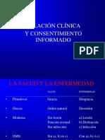 ED I-3 Relación Clínica y Consent. Inf 2018-I