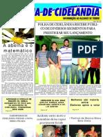 FOLHA DE CIDELANDIA - MA - ANO I Nº 2 - 15 a 23 de setembro 2010
