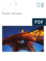 French Ouverture Printable