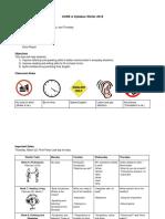 syllabus calendar and english log