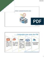 Gestion y Adminsitración Web s003