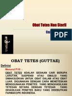 3A. Obat Tetes Non Steril