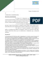 Impugnacion Perez Estevan Ante El Consejo de La Magistratura