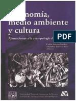 Tafonomía Medio Ambiente y Cultura