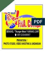 Sticker AFRA. Comp.