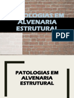 Patologias alvenaria
