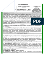 Sulfato de Litio