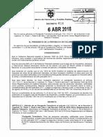 Decreto 618 Del 06 de Abril de 2018 (1)
