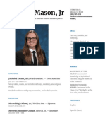 resume for s