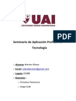 Carpeta Tecnologia - SAP - Binnier Eliana - Tercer Entrega_13062017