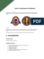 Guía de Defectos y Soluciones Al Elaborar Cerveza