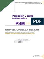 Gonzàlez & (2015) Mortalidad Infantil en Baja California