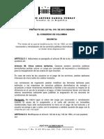 Proyecto Ley 016-15 Reconexion
