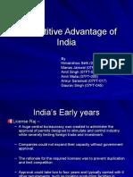 Competitive Advantge of India Visit Us @ Management.umakant.info