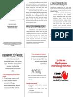 Leaflet Perhatian Khusus Penyuntikan Insulin