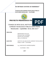 Perfil Del Proyecto Aves 2017