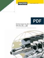 Catalogo General de Compresores de Tornillo