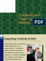 Creativity and Team Decision Making- OB 10Visit Us @ Management.umakant.info