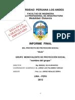 INFORME FINAL PROYECCION SOCIAL.docx