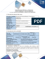 Guía de Actividades y Rúbrica de Evaluación - Fase 3 - Elaborar El Plan de Mercadeo