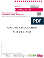 Info Trafic Axe L- Orleans - Toury - Etampes (Paris) Du 14 04 2018_tcm56-46804_tcm56-185248