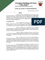 RESOLUCION DESIGNACION TESORERA