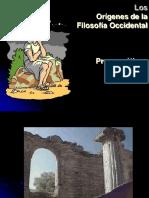 presocraticos2011-110318164421-phpapp01