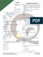 Quimica Primer Parcial Cepre Uni 2011 2 - Tema p
