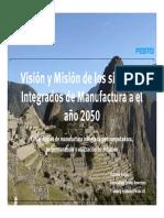 Manufactura y Sistemas Integrados en El Año 2050