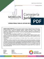 Código Penal Del Edo. de Morelos