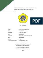 Laporan Praktek PLC Job 1