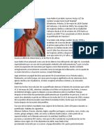 Biografía Juan Pablo II