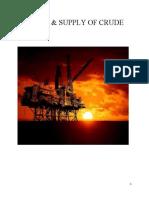 Demand & Supply of Crude Oil (1).Docx Visit Us @ Management.umakant