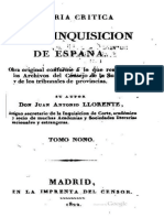 Historia Critica de La Inquisición 9-10