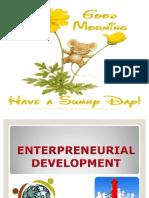 Enterpreneurial Development Visit Us @ Management.umakant.info