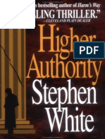 Higher Authority - Stephen White.epub