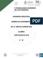 Jose Ulin Diseños d Experiemntos